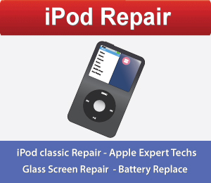 iPod Repair San Francisco, iPod Screen Repair San Francisco, iPod classic Repair San Francisco.