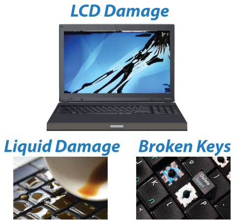 Broken hp Laptop Screen hp Laptop Lcd Screen Damage