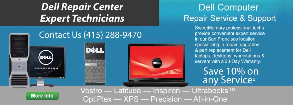 Dell Repair Center - Expert Technicians - Dell Inspiron, Latitide, Precision Laptop Repair